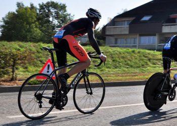 Equipe cycliste contre la montre