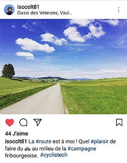 Cycliste Vélo Fribourg