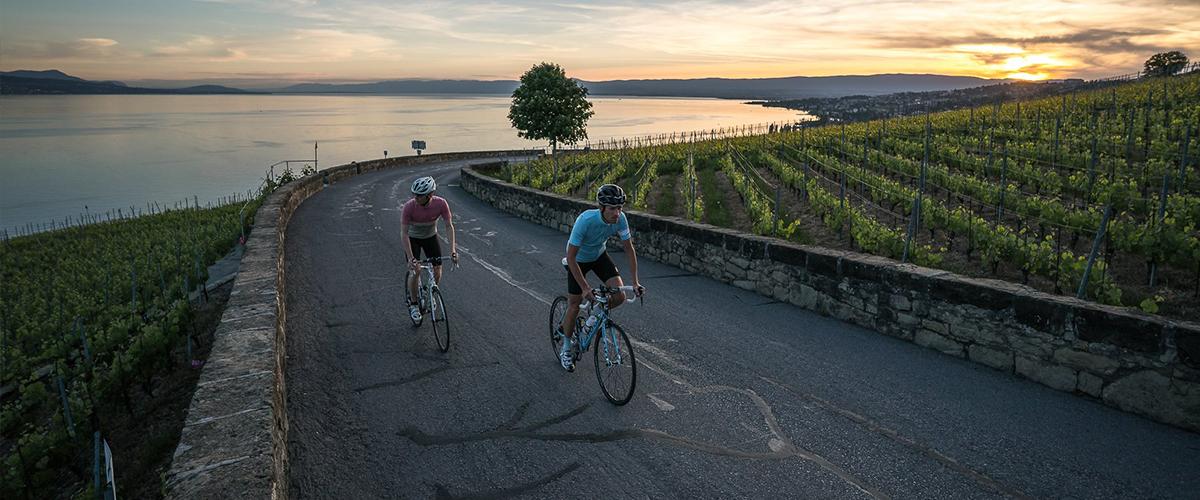 Itinéraire Lavaux vélo