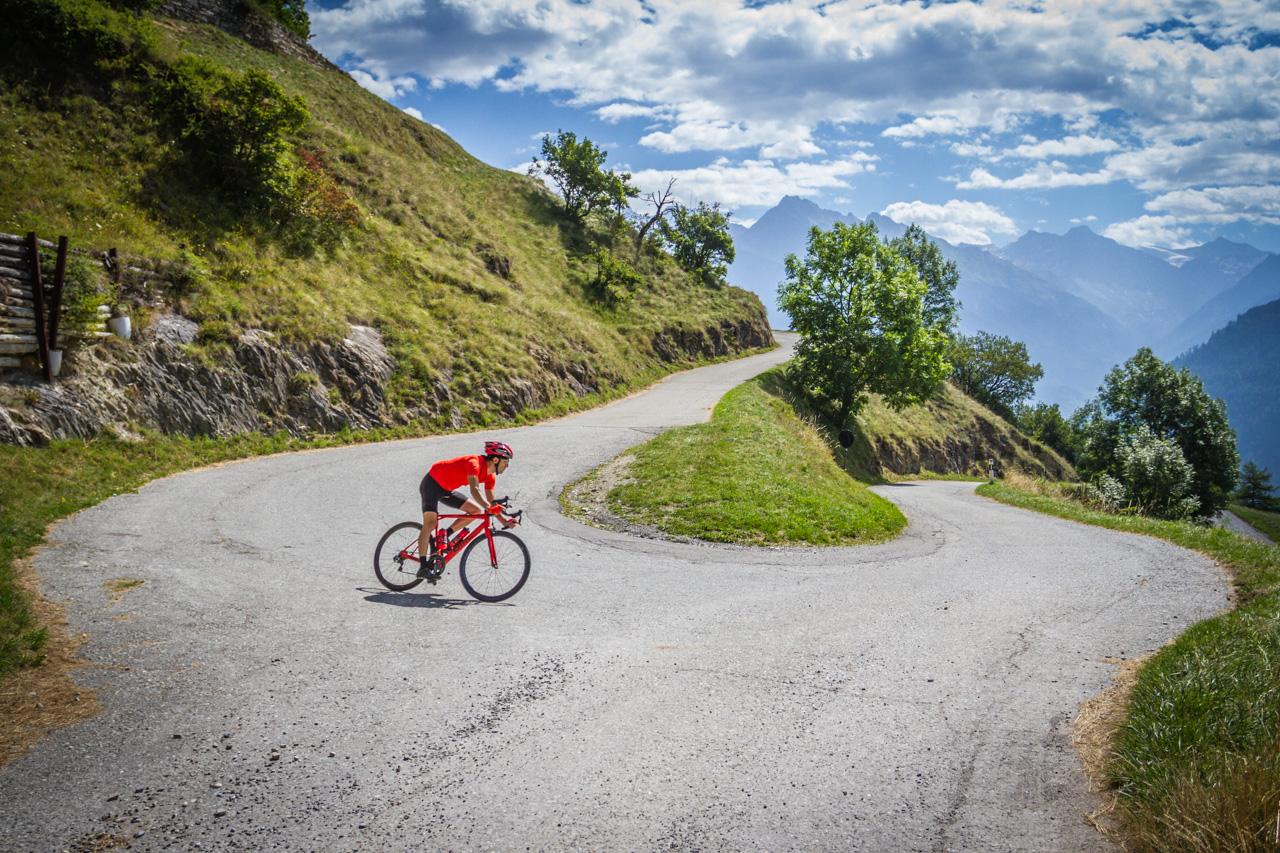 Itinéraire vélo valais