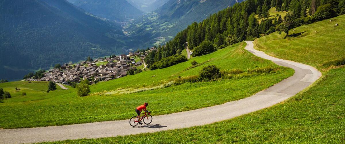 itinéraire cycliste valais