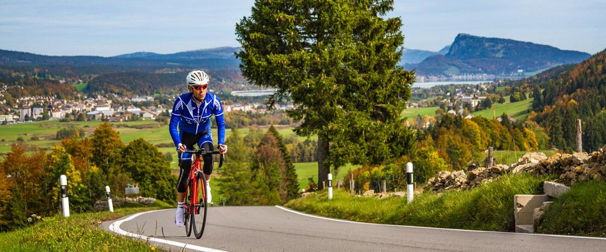 Itinéraire vélo jura vaudois