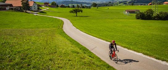 Itinéraire vélo fribourg