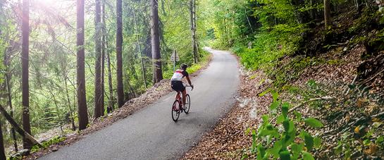 Itinéraire vélo combe blanche