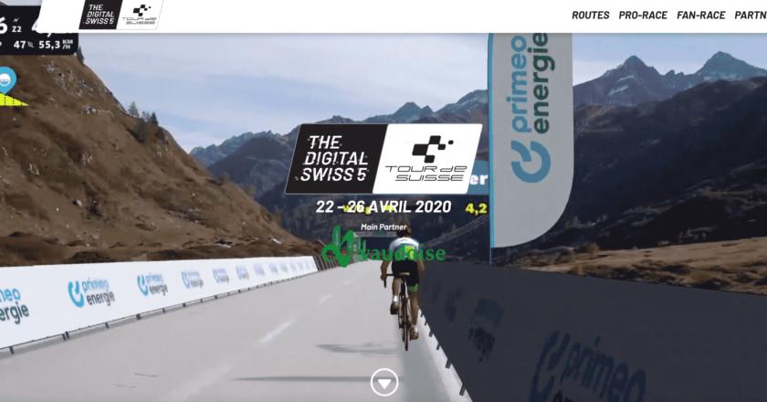 Digital Swiss 5 Tour de Suisse 22-26 avril 2020