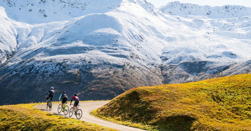 Grisons (Suisse) en vélo de gravel