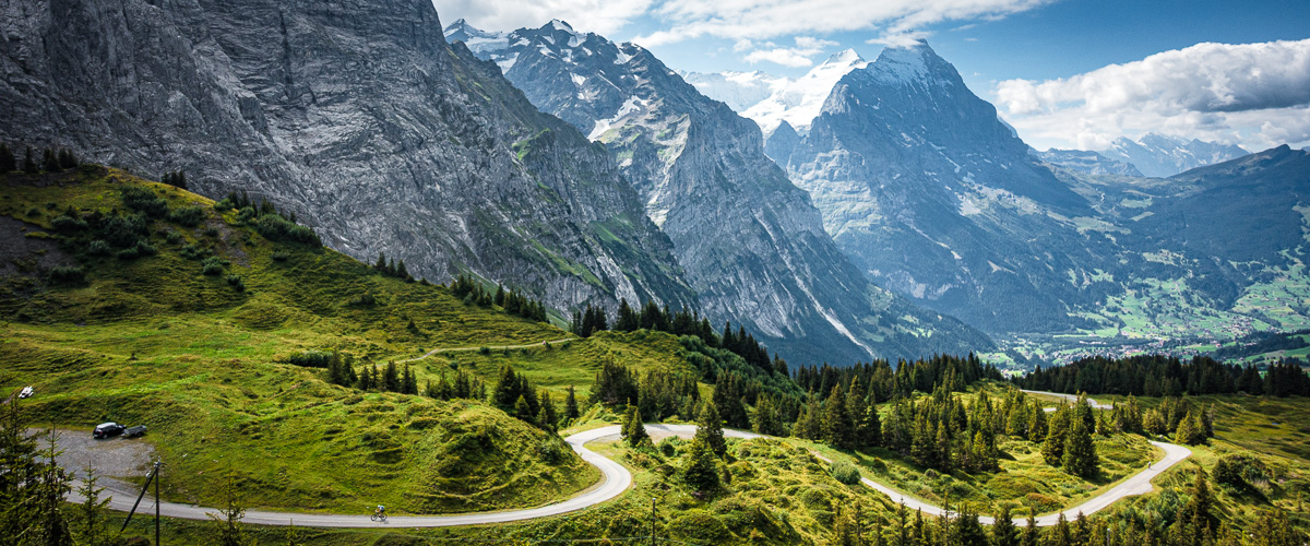 Grosse Scheidegg vélo de route Interlaken