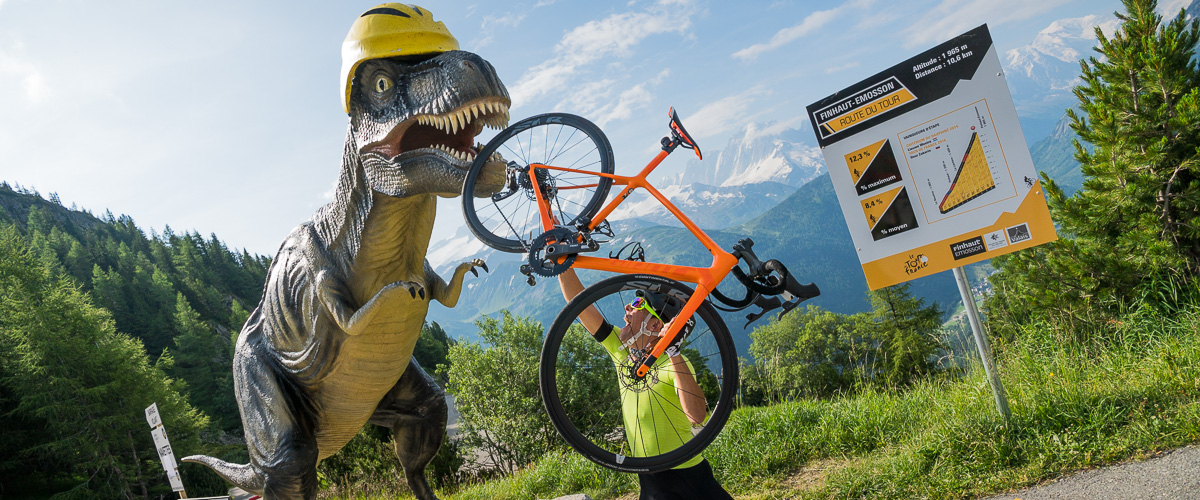 Emosson vélo de route