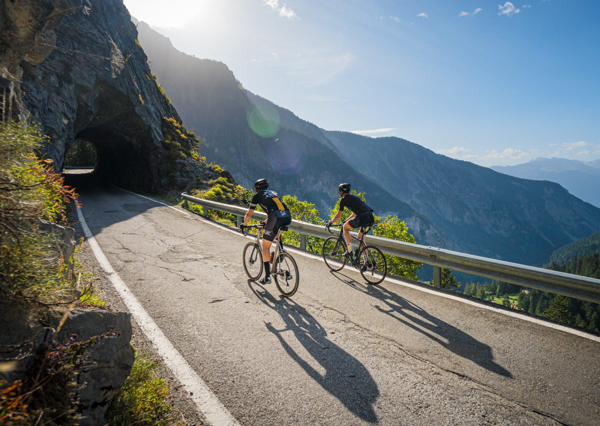 Col du Sanetsch vélo de route