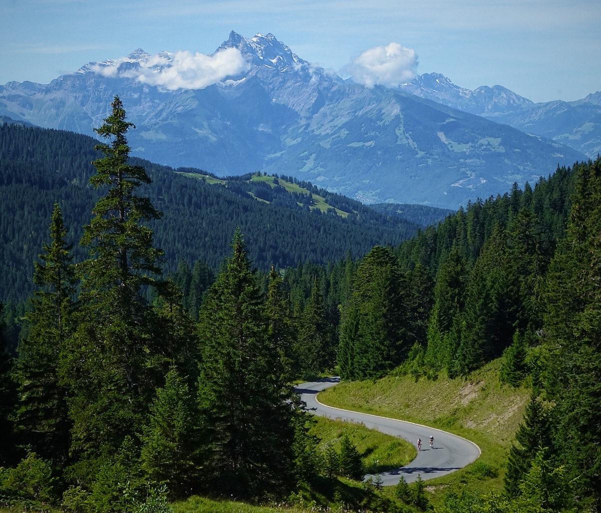 Top of Col de la Croix
