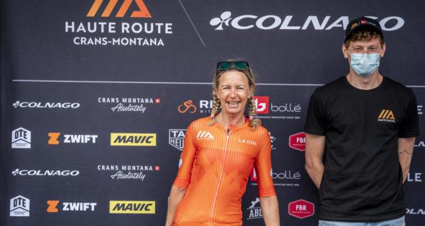 Corinne Waridel podium