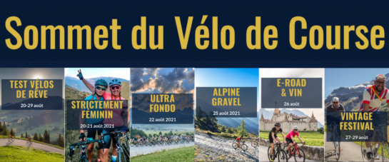 Banner Gstaad Road Cycling Summit