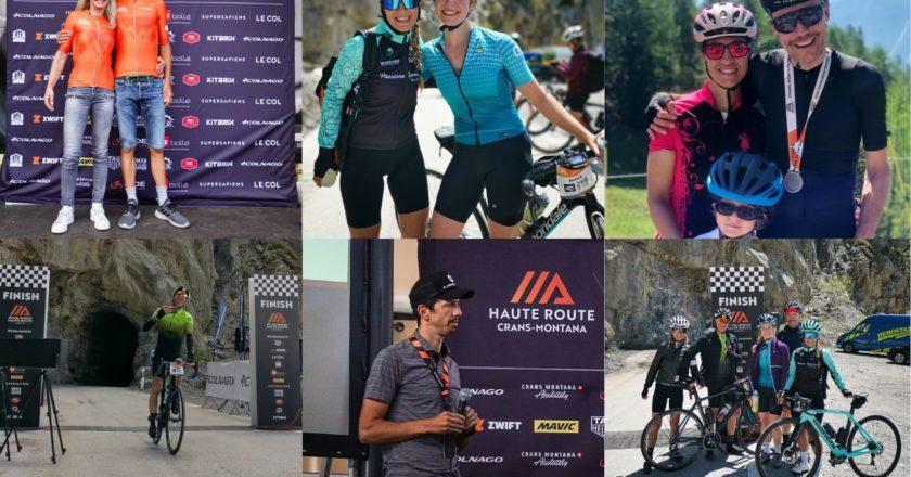 Team cycliste.ch à la Haute Route
