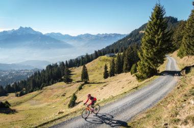 Gravel bike dans les Alpes vaudoises